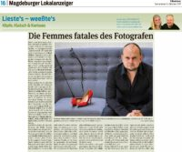Presseartikel zum Aktkalender vom Fotografen Rayk Weber